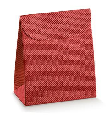 Red cardboard package