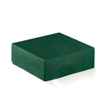 Green cardboard package