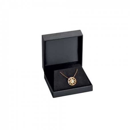 Packaging with interior display case for necklace, bracelete or earrings