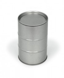 Rectangular metal packaging