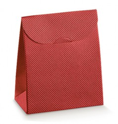 Red cardboard package