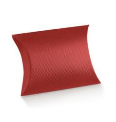 Red cardboard pillow