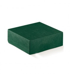 Green cardboard package