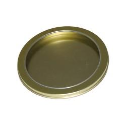 Golden metal CD tin