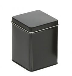 Black square tin M