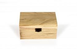 Big wooden coffer