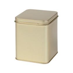 Golden square tin