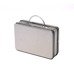 Briefcase shaped tin