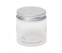 100 ml PET bottle with aluminium lid