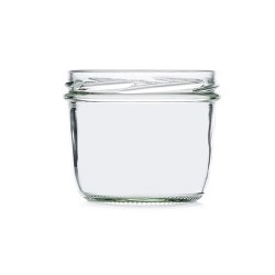 Round glass jar 230ml