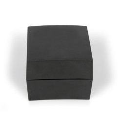 Black plastic box