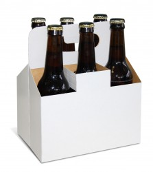 Packaging for six beers
