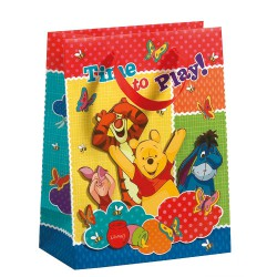 Bag with Winnie the Pooh drawings