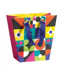 Coloured paper bag