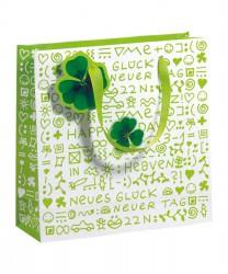 Green toned paper bag