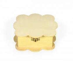 Cloud shaped wooden box