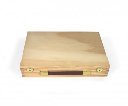 Coffer shaped box